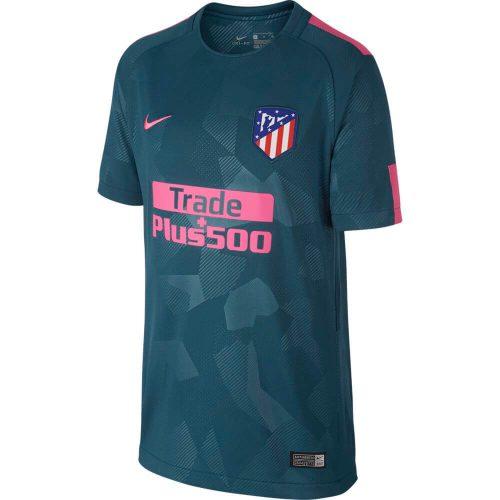 Nike Atletico Madrid 3rd Shirt 2017-2018 Kids
