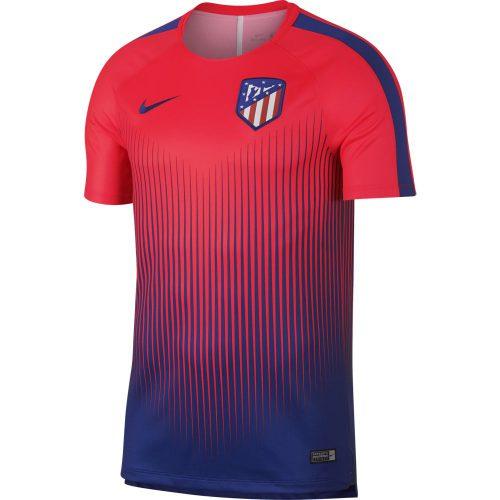 Nike Atletico Madrid Dry Squad Trainingsshirt 2018-2019 Bright Crimson Deep Royal Blue