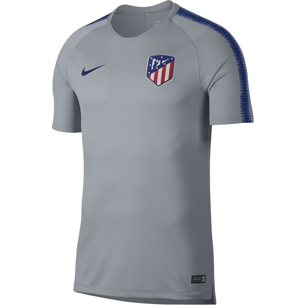 Nike Atletico Madrid Squad Trainingsshirt 2018-2019 Wolf Grey