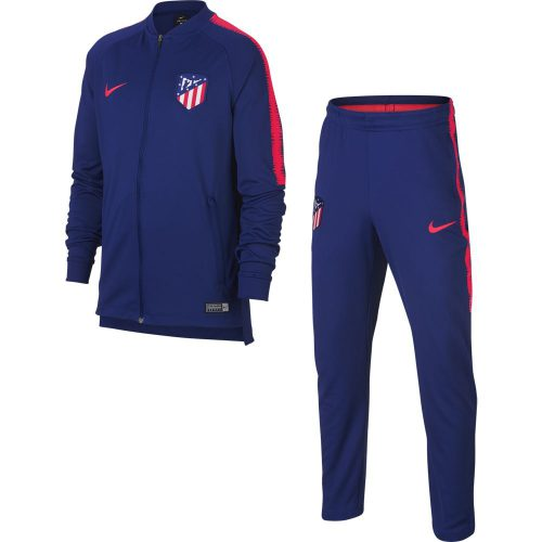 Nike Atletico Madrid Dry Squad Trainingspak 2018-2019 Kids Deep Royal