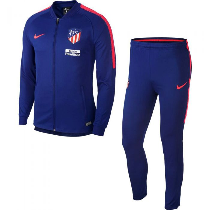 Nike Atletico Madrid Dry Squad Trainingspak 2018-2019 Deep Royal