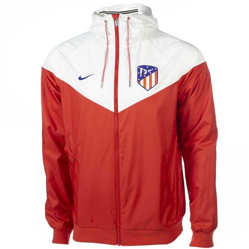 Nike Atletico Madrid Authentic Windrunner Sport Red White Deep Royal