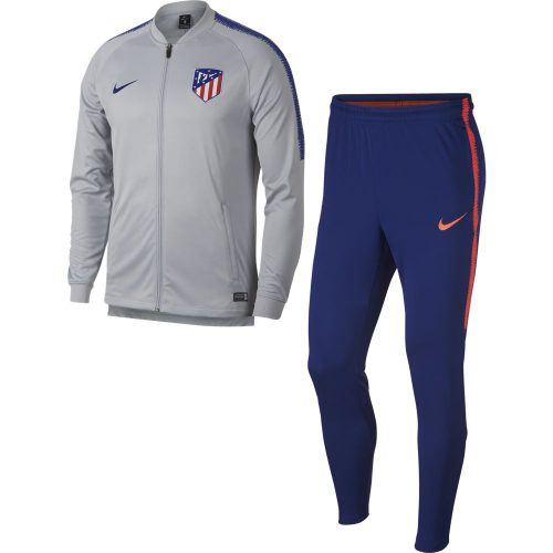 Nike Atletico Madrid Dry Squad Trainingspak 2018-2019 Wolf Grey