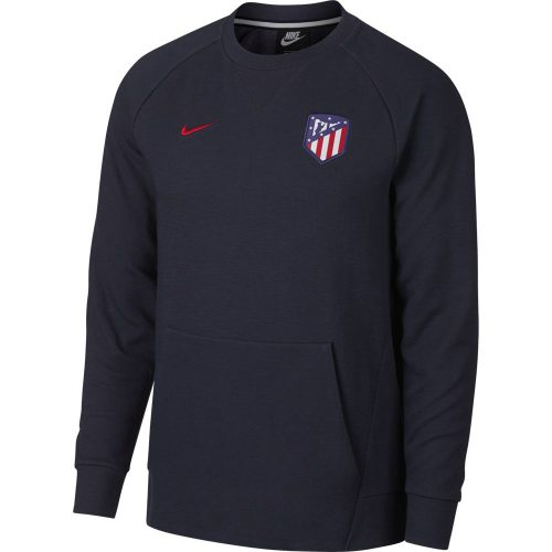 Nike Atletico Madrid Crew Sweater Optic Obsidian