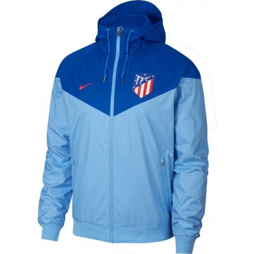 Nike Atletico Madrid Authentic Windrunner Blue Gale Blue Nebula