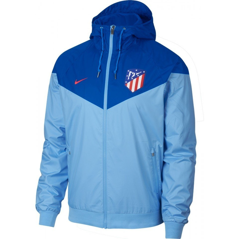 Nike Atletico Madrid Authentic Windrunner Blue Gale Blue Nebula