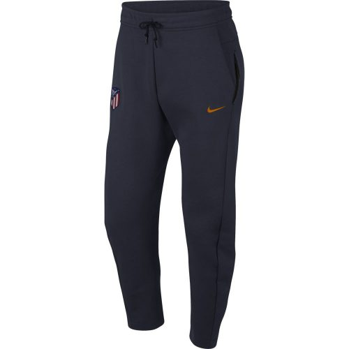Nike Atletico Madrid Tech Fleece Trainingsbroek 2018-2019 Blauw Oranje