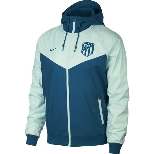 Nike Atletico Madrid Authentic Windrunner 2018-2019 Blauw Groen