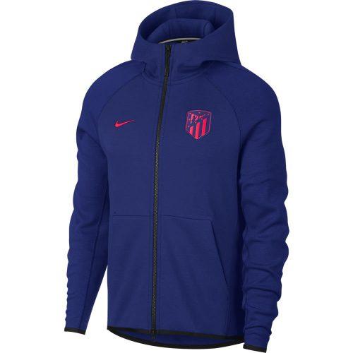 Nike Atletico Madrid Tech Fleece Hoodie 2018-2019 Donkerblauw
