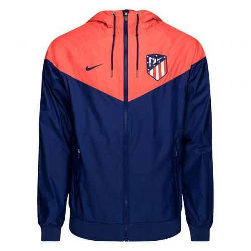 Nike Atletico Madrid Authentic Windrunner 2018-2019 Royal Blue