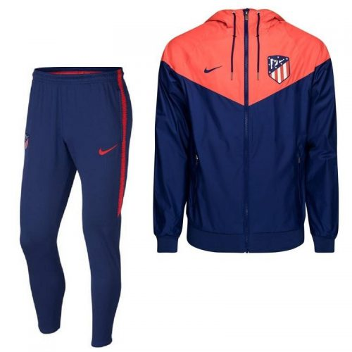 Nike Atletico Madrid Windrunner Trainingspak 2018-2019 Blauw