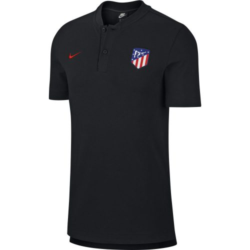 Nike Atletico Madrid Polo 2019-2020 Zwart