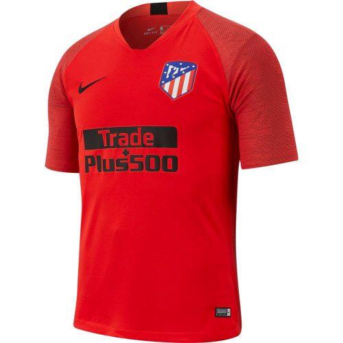 Nike Atletico Madrid Breathe Strike Trainingsshirt 2019-2020 Rood