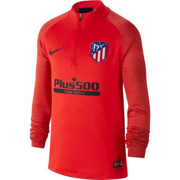 Nike Atletico Madrid Dry Strike Trainingstrui 2019-2020 Kids Rood