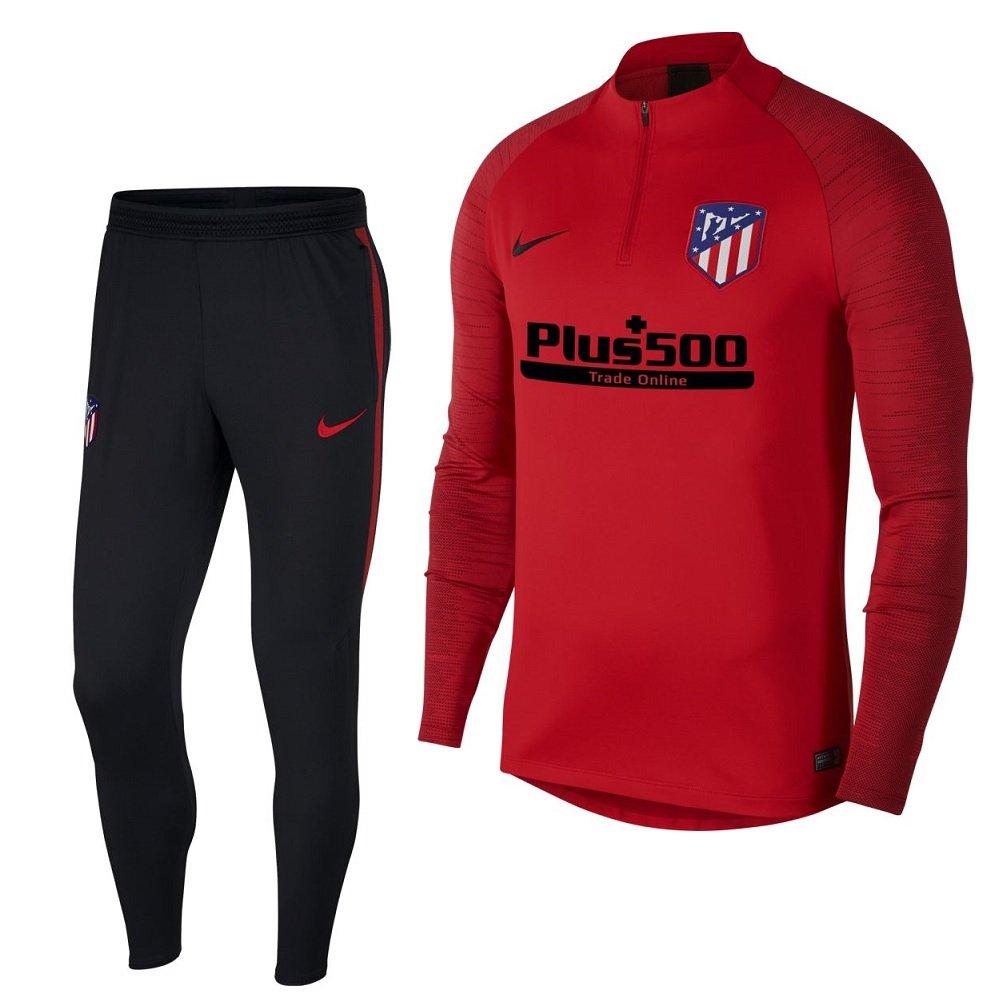 Nike Atletico Madrid Strike Drill Trainingspak 2019-2020 Rood Zwart