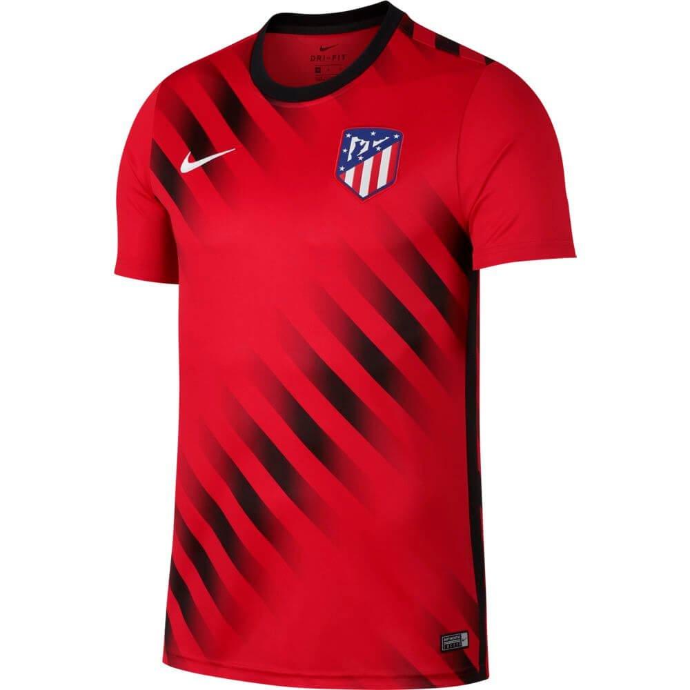 Nike Atletico Madrid Dry Pre-Match Trainingsshirt 2019-2020 Rood