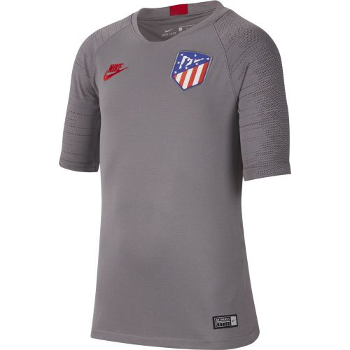 Nike Atletico Madrid Strike Trainingsshirt 2019-2020 Kids Grijs Rood