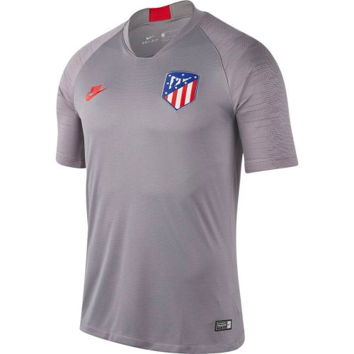Nike Atletico Madrid Breathe Strike Trainingsshirt Champions League 2019-2020 Grijs