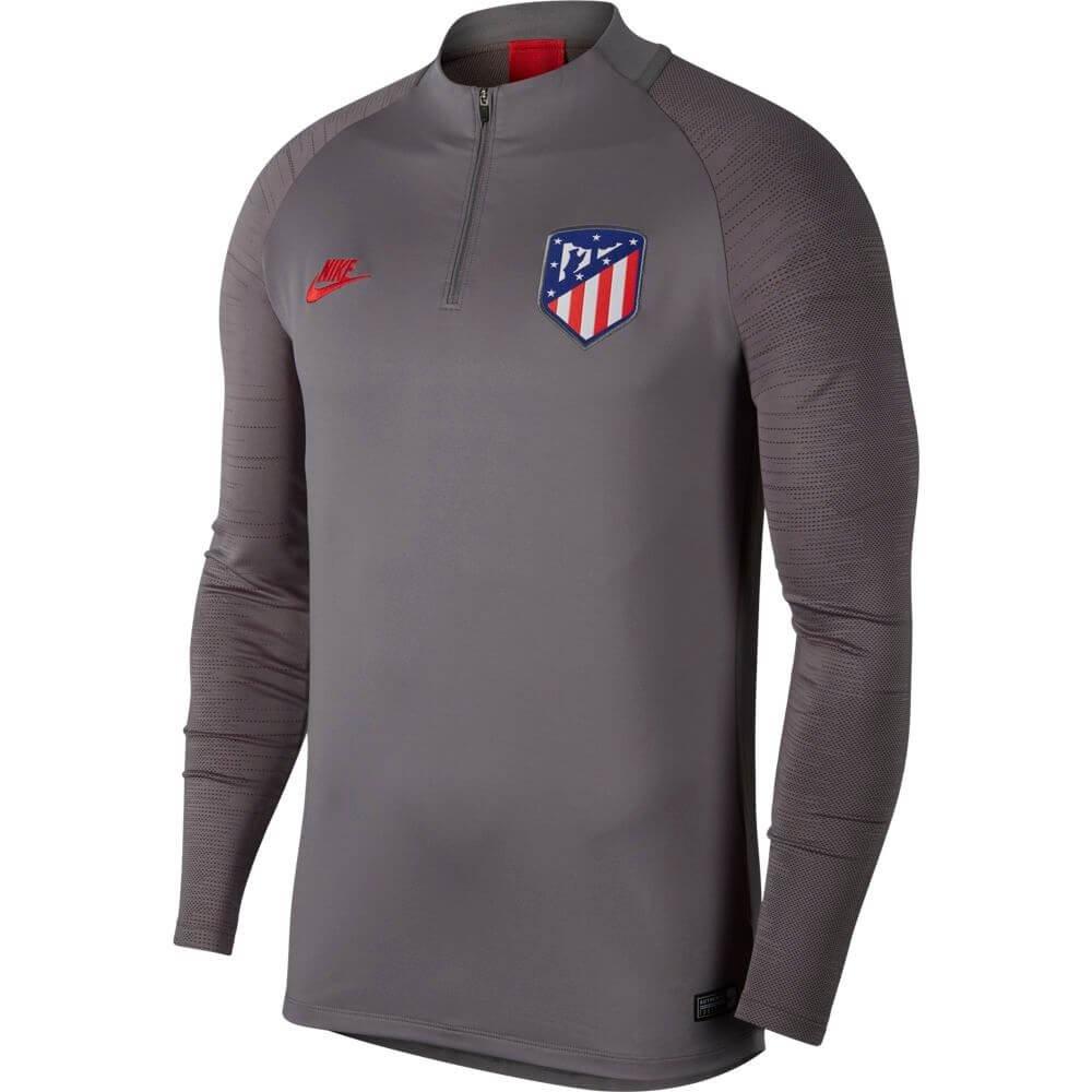 Nike Atletico Madrid Dry Strike Trainingstrui Champions League 2019-2020 Grijs