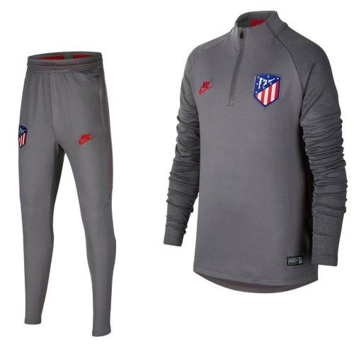 Nike Atletico Madrid Dry Strike Trainingspak 2019-2020 Grijs Kids