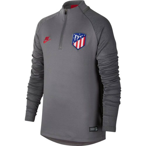 Nike Atletico Madrid Dry Strike Trainingstrui 2019-2020 Kids Grijs