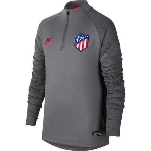 Nike Atletico Madrid Dry Strike Trainingstrui 2019-2020 Kids Grijs