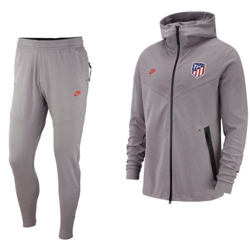 Nike Atletico Madrid Tech Fleece Pack Trainingspak 2019-2020 Grijs Zwart