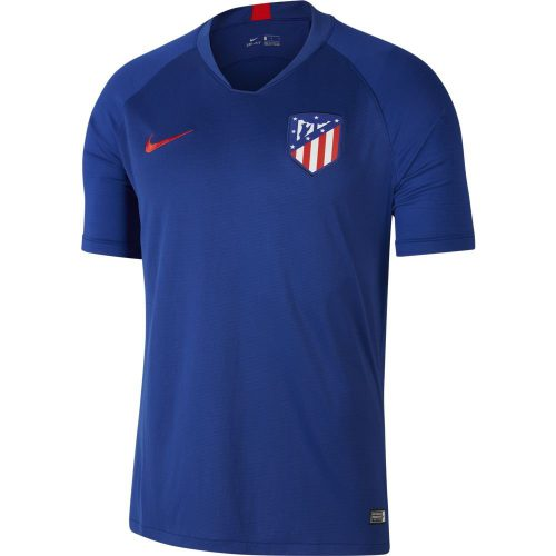 Nike Atletico Madrid Strike Trainingsshirt 2019-2020 Blauw