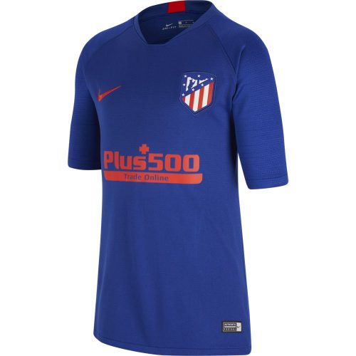 Nike Atletico Madrid Strike Trainingsshirt 2019-2020 Kids Blauw